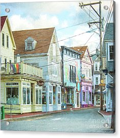 Commercial St #1 Acrylic Print