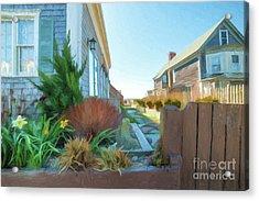 Commercial St. #4 Acrylic Print