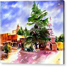 Commercial Street, Old Town Auburn Acrylic Print