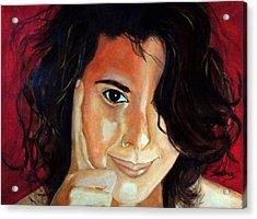 Commision Acrylic Print by Manuel Sanchez