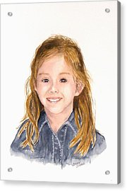 Commissioned Portrait 3 Acrylic Print