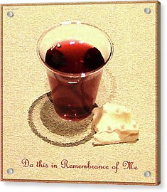 Communion Acrylic Print