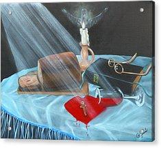 Communion Acrylic Print by Joni McPherson
