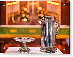 Communion Silver 1800 Acrylic Print
