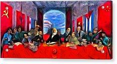 Communist Last Supper - Da Acrylic Print