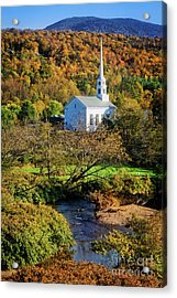 Acrylic Print featuring the photograph Community Church by Scott Kemper