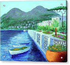 Como A Vision Of Delight Acrylic Print by Larry Cirigliano
