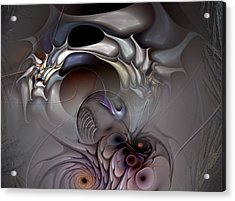 Compartmentalized Delusion Acrylic Print by Casey Kotas