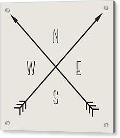 Compass Acrylic Print