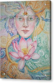 Compassion Acrylic Print by Catherine Moore