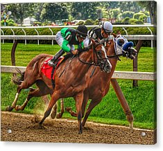 Competing Acrylic Print