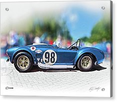 Competition Cobra Acrylic Print