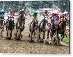Competition Acrylic Print