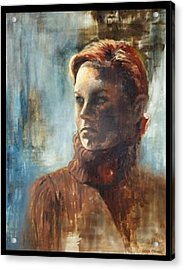 Complacence Acrylic Print by Leslie Rhoades
