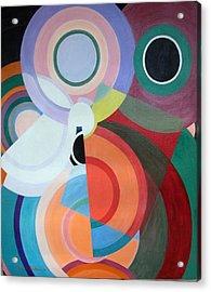 Complement Acrylic Print by Muriel Dolemieux