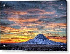 Acrylic Print featuring the photograph Complicated Sunrise by Fiskr Larsen