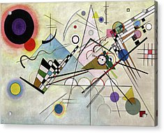 Composition 8 Acrylic Print by Wassily Kandinsky