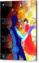 Composition Acrylic Print by Asok Mukhopadhyay