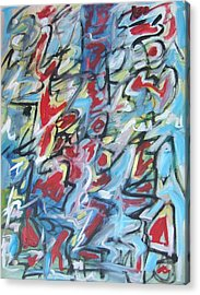 Composition No 7 Acrylic Print by Michael Henderson