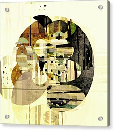 Composition Number Three Abstract Art Acrylic Print