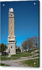 Compton Hill Water Tower-1 Acrylic Print