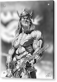 Conan Acrylic Print by Bill Richards