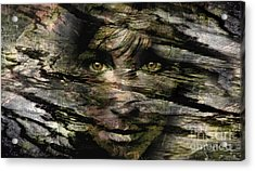 Concealed Emotions Acrylic Print