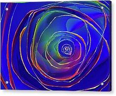 Concentric Acrylic Print by Alexis Baranek