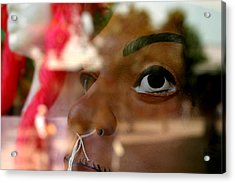 Concerned Thats All Acrylic Print by Jez C Self