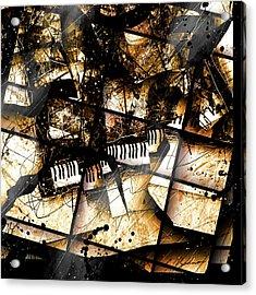 Concerto V Acrylic Print by Gary Bodnar