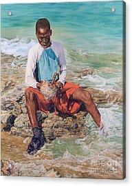Conch Boy II Acrylic Print