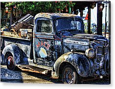 Conch Truck Acrylic Print by Joetta West