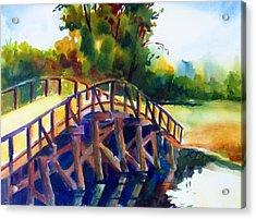 Concord Bridge Acrylic Print