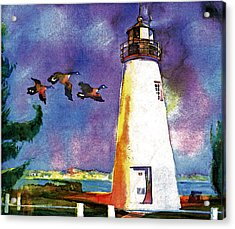 Concord Point Lighthouse Acrylic Print