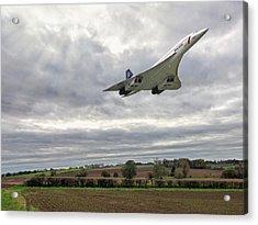 Concorde - High Speed Pass Acrylic Print
