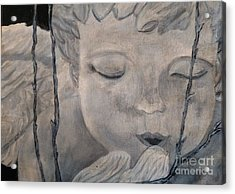 Concret Angel Acrylic Print