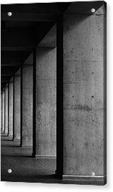 Concrete Acrylic Print by Daniel Lih