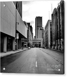 Concrete Jungle Acrylic Print by Reb Frost