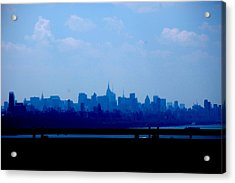 Concrete Jungle  Acrylic Print by Samantha  Backhaus