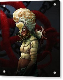 Condemnation Of The Nautilus Acrylic Print by Ethan Harris