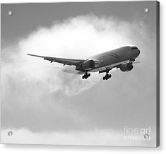 Condensation Acrylic Print by Alex Esguerra