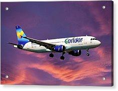 Condor Airbus A320-212 Acrylic Print