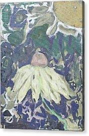 Coneflower Abstract Acrylic Print