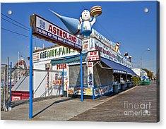 Coney Island Memories 11 Acrylic Print by Madeline Ellis