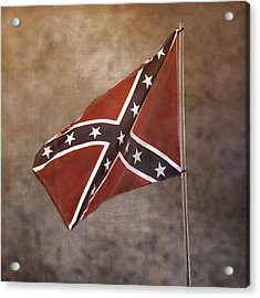 Confederate Battle Flag Acrylic Print
