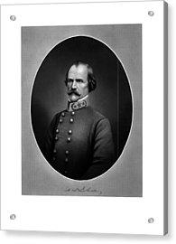 Confederate General Albert Sidney Johnston Acrylic Print