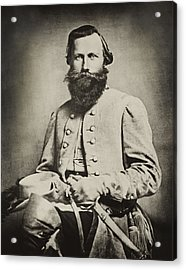 Confederate Jeb Stuart Acrylic Print by Paul W Faust -  Impressions of Light