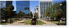 Confederate Monument Viewed From South Acrylic Print by Panoramic Images