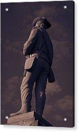 Confederate Statue Acrylic Print