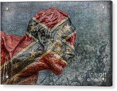 Confederate Veteran  Acrylic Print